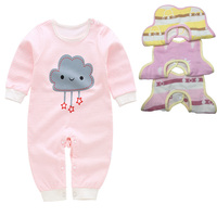 Infant Newborn Clothes Set Rompers +3pcs Bibs Baby sets girls boys suits 0-12M more 20 styles Baby Accessories