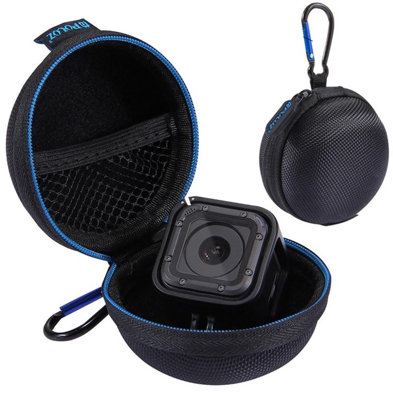 Para go pro herói 5/4 sessão saco de armazenamento sessão caixa de proteção caso para gopro hero 5 4 sessão mini câmera acessórios