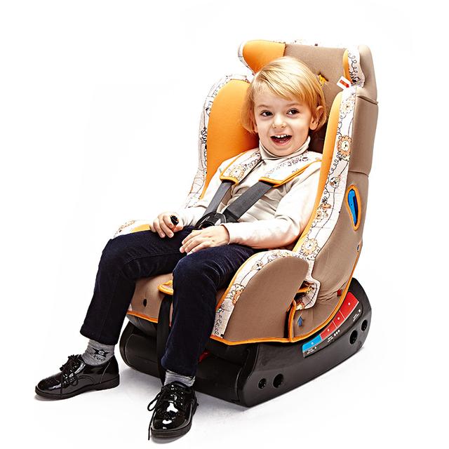 Rojo de Dos Vías Instalación Silla de Asiento de Seguridad Para 0-6 Años de Edad el Uso Del Bebé