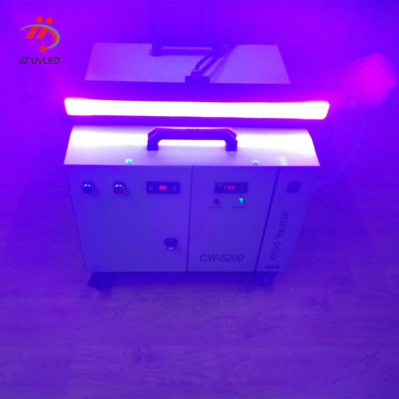 Factory custom 500mm*35mm light-emitting area high-power UvLED curing light Screen printing <font><b>UV</b></font> lamp image