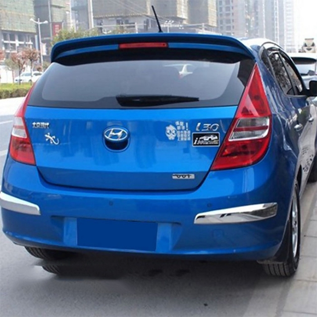 Us 37 44 Montford For Hyundai I30 2009 2010 2011 2012 2013 2014 2015 Abs Plastic Unpainted Primer Tail Wing Auto Rear Spoiler Car Styling In