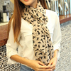 New Fashion Women's Chiffon Colorful Printed Sweet Cartoon Cat Kitten Scarf Graffiti Style Shawl Girls Christmas Gift 1