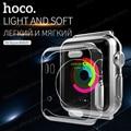 Hoco original luz de la serie tpu para apple watch series 1 38mm y 42mm case ultra thin claro transparente suave protectora cubierta