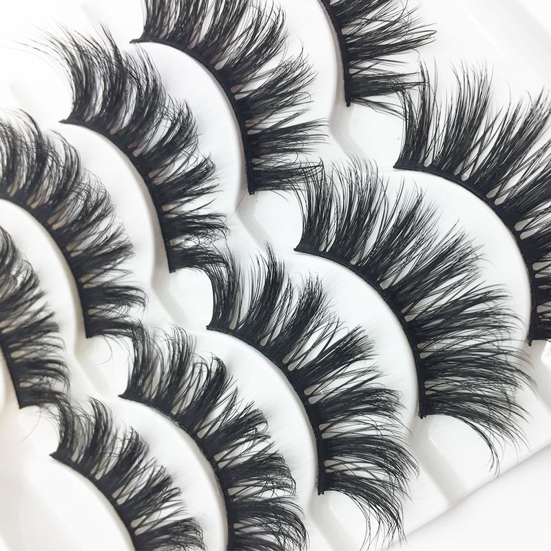 3D Eyelashes Hand Made Reusable Natural Long Eyelashes Mink Eyelashes Soft Dramatic Eye Lashes For Maquiagem Mink Cilios Makeup