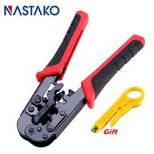 цена на RJ45 crimping tool network crimper tool set Cable Stripper Cutter pliers for RJ45 Cat5 Cat5e Cat6 RJ11 8P 6P