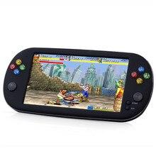 Polegada HD grande tela 7 16g handheld game console câmera gravador de vídeo portátil de música ebook criança MP4 arcade carregamento jogos do jogador