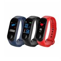 Водонепроницаемый смарт-браслет для xiaomi huawei сна сердечного ритма кровяного давления фитнес-трекер Смарт-часы группа шагомер