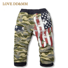 Boys Pants Hot Sale New Children Clothing Kids Clothes Girls Camouflage Leisure Flag Terry Trousers Baby Clothing