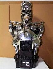 OGRM Orgrimmar 1: 1 Resina Terminator T2 T2 T800 busto estatua figura esqueleto en stock foto de medio cuerpo o retrato WU569