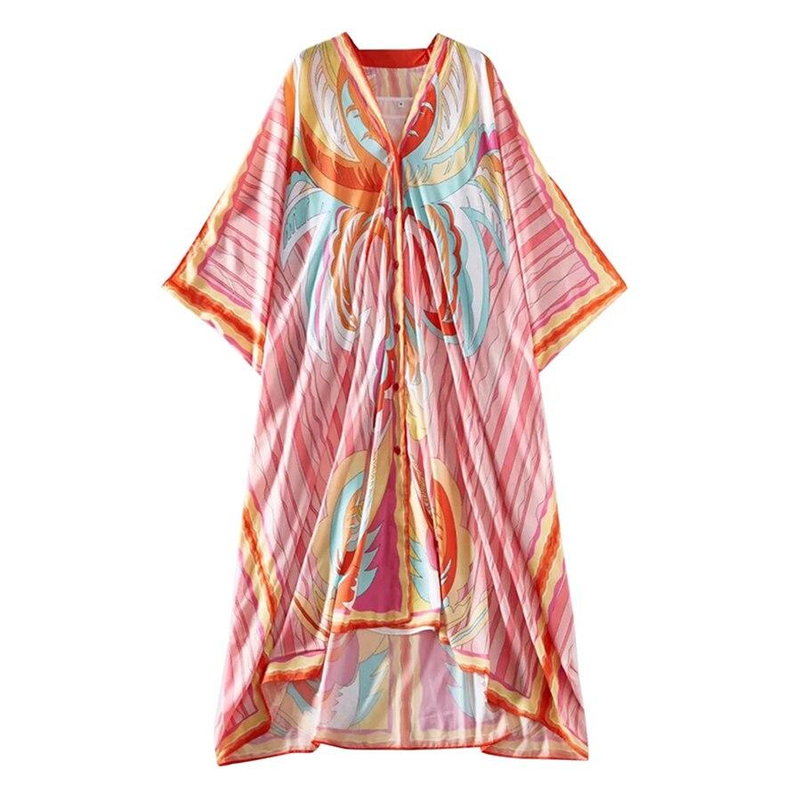 V-neck Style Single Dresses