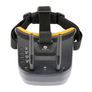 Image 5 - BGNing FPV Goggles 3 inch 480 x 320 Display Double Antenna 5.8G 40CH Built in 3.7V 1200mAh Battery for Racing Drone