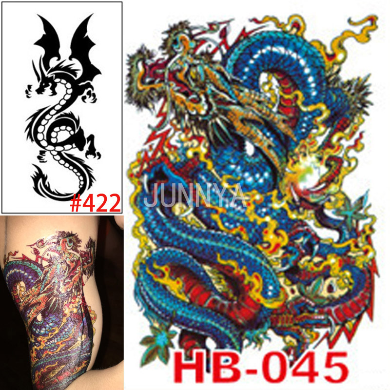 Online buy wholesale temporary dragon tattoos from china for Wholesale temporary tattoos