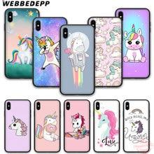 Webbedepp Unicorn Wallpaper Soft Silicone Phone Case For