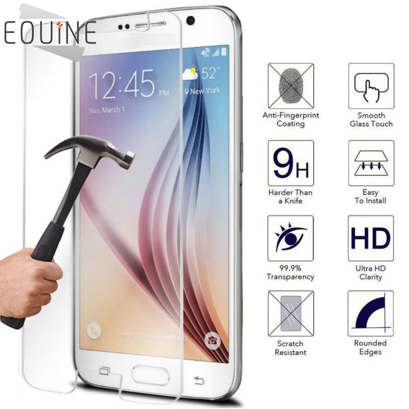 2pcs lots of Tempered Glass Coque for Samsung Galaxy J5 A3 A5 2017 J5 Prime J3 J3 2016 S5 J1 2016 Grand Prime Screen Protector