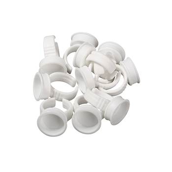 200/1000pcs Tattoo Ink Cups Rings Disposable Eyebrow Lip Tattoo
