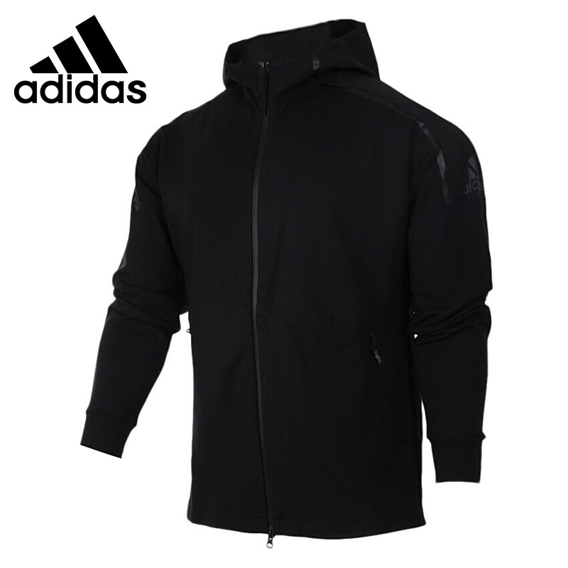Original New Arrival 2017 Adidas ZNE DUO HOODY Men's jacket Hooded Sportswear original new arrival official adidas women s jacket breathable stand collar training sportswear