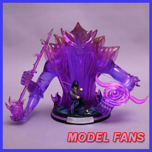 MODEL FANS in-stock kakitoy 39cm NARUTO Uchiha Sasuke Susanoo Tempestuous God of Valour GK resin statue figure for Collection