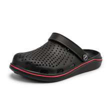 Summer Sandals Flats Clogs Mules Beach-Slippers Casual Shoes Homme Male Breathable QUAOAR