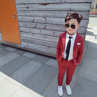 Children's Suits Flowers Children's Coats Hosts Boys Tuxedos Boys' Suits Baby Boy Suit