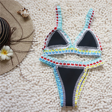 knitting two piece swimsuits