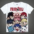 Fairy Tail Футболка dragon slayer футболки Аниме Продукты милые женщины летние футболки Девушка Аниме Фигурки мультфильм футболки