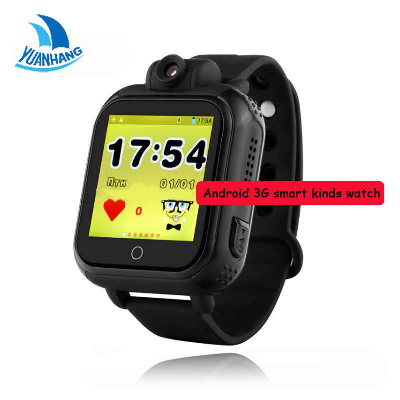 720P Remote Camera GPS WIFI Location Tracker 1.54 Touch Screen Kids Elderly 3G Android Smart Wristwatch SOS Monitor Alarm Watch mictrack advanced 3g personal tracker mt510 for kids elderly 2 way voice sos 3d sensor support wcdma umts 850 2100mhz