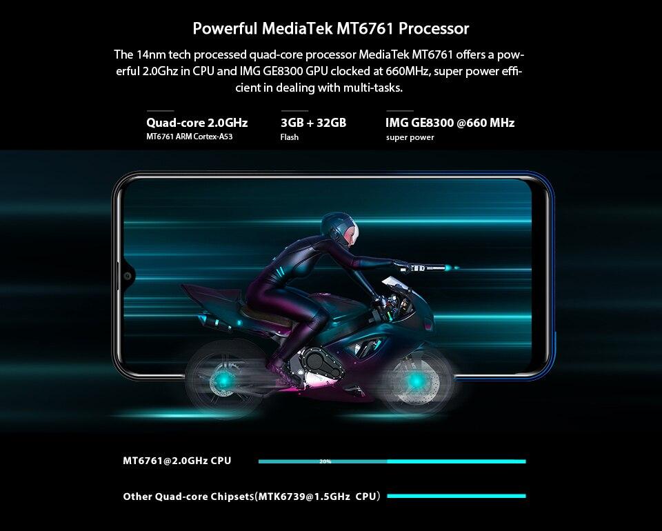 HTB1nmCEXrr1gK0jSZFDq6z9yVXaG OUKITEL C15 Pro+ 6.088'' 19:9 Android 9.0 Cellphones 3GB 32GB MT6761 Waterdrop 4G Smartphone Fingerprint Face ID 5G WiFi Phone