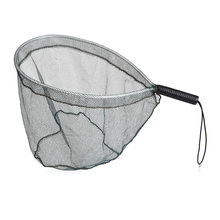 Fishing Net Aluminum Landing Fishing Net Catch and Release Net Nylon Mesh Fly Fishing Brail Landing Net Portable Lightweight