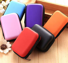 Travel Digital USB Storage Cable Earphone Organizer Bag Case Insert Flash Drives(China)