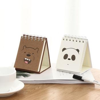 2018 lindo oso planificador bobina libro papelería dibujos animados ...