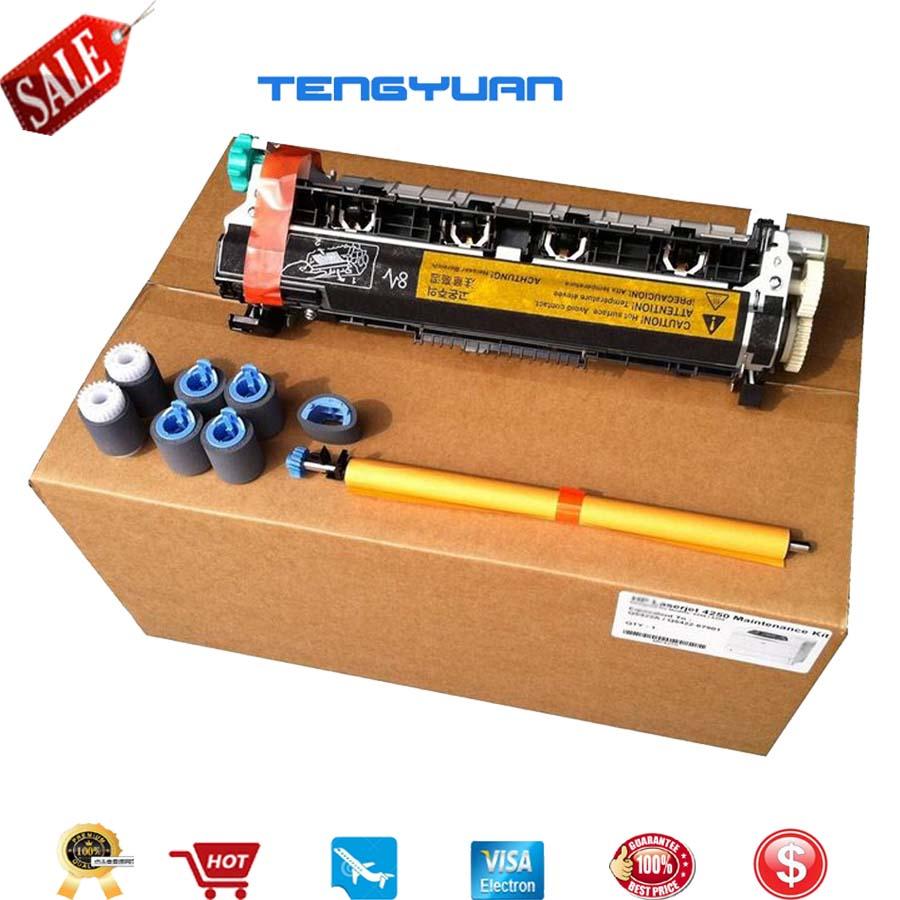 Original New LaerJet for HP4300 4345 4345MFP Maintenance Kit Fuser Kit Q2437A Q2436A Q5999A Q5998A Printer Parts on sale original new laerjet for hp2200 2200 maintenance kit fuser kit h3978 60002 h3978 60001 printer parts