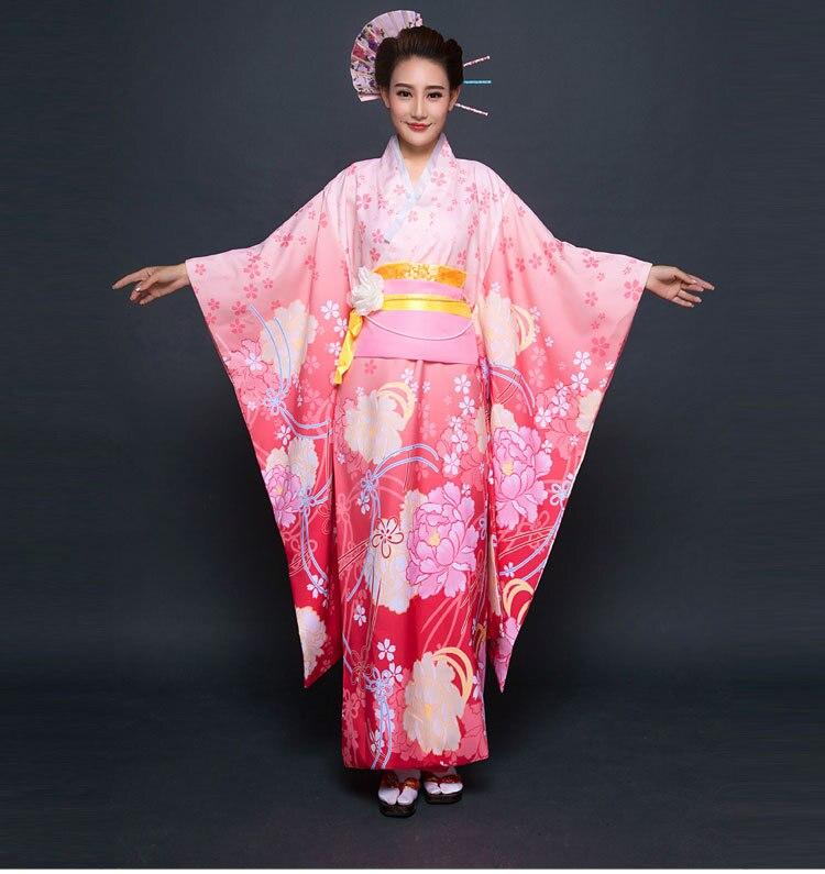 Nouvelle fête Cosplay Cotume Kimono japonais femmes Yukata traditionnel japonais Kimonos femme peignoir japonais vêtements anciens 0117