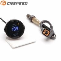 CNSPEED 52mm Car Auto Car Air Fuel Ratio Gauge Digital Narrowband Oxygen Sensor O2 Rear For 01 06 Hyundai 2.0L