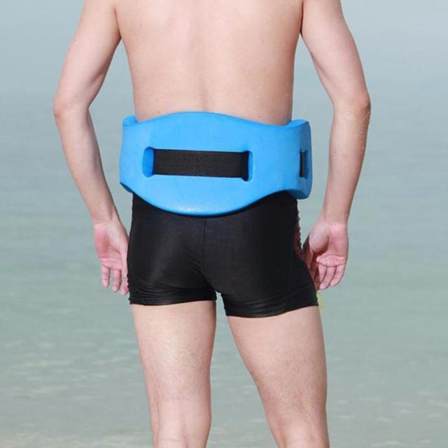 EVA Adjustable Back Floating Foam Swimming Belt Waist Training Equipment Adult Children Tool Float float board belt