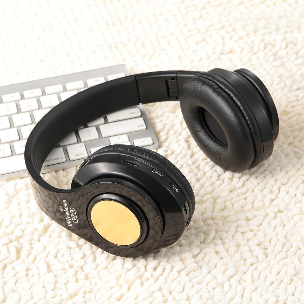 Tourya HZ10 Wireless Headphones Over Ear Bluetooth Headphone Foldable Headset Adjustable Earphone With Mic For TV Cellphone PC