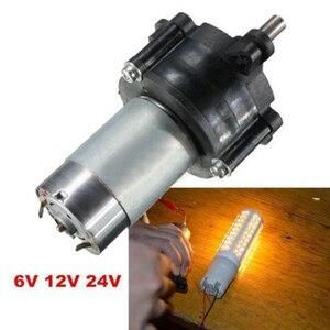 DC 6V 12V 24V Motor Hand Gener