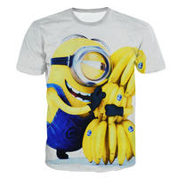 Despicable Me Minion T Shirt Print Men Women 3d T Shirt Casual Cute Minions Shirt Fashion