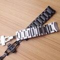 Ремешок для часов с закругленными концами  Сменные аксессуары для Gear S3 Frontier GALAXY 22 мм  серебристый  черный