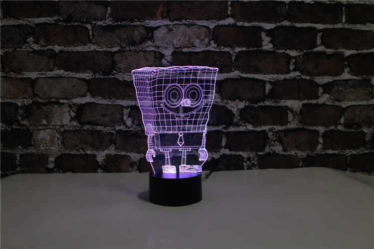 Yjm 2849 spongebob cartoon shape night light baby gift lighting lamp yjm 2849 spongebob cartoon shape night light baby gift lighting lamp with energy save feature and 7 changed color in led night lights from lights lighting aloadofball Choice Image