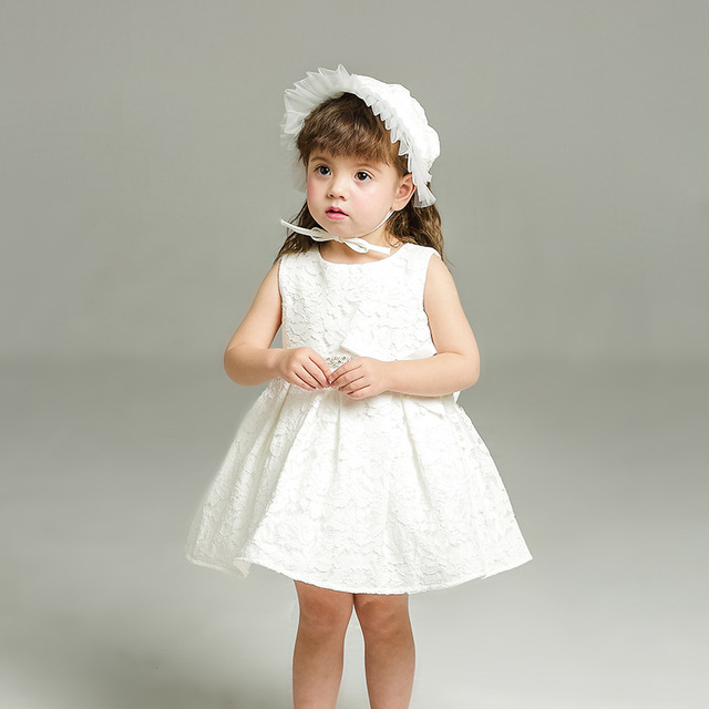 d2ab658674b1 Sun Moon Kids Baby Girl Dress Summer Sleeveless Baby Girl Party ...