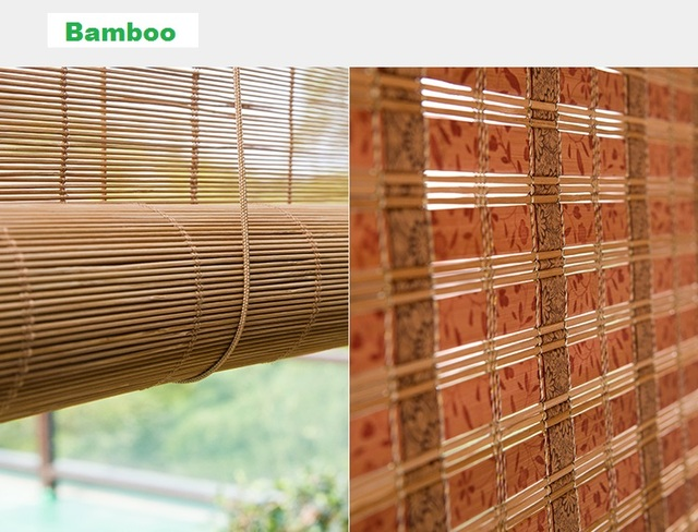 Wonderful 2017 On Sales High Quality Custom Bamboo Shutter Curtain Blinds Many Styles  Bay Window For