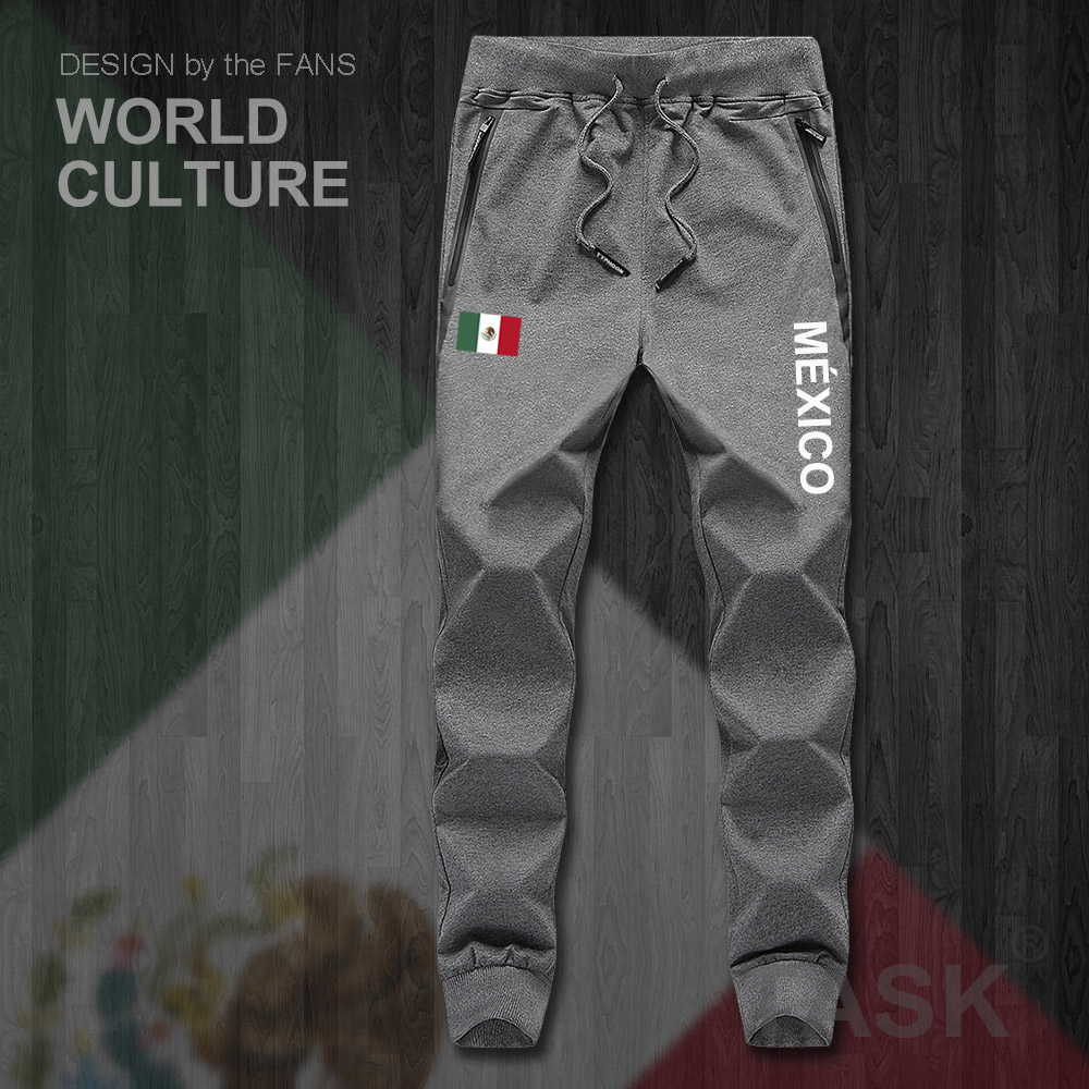 United Mexican States Mexicomens Mexico MX MEX Mens Pants Joggers Jumpsuit Sweatpants Track Sweat Fitness Fleece Tactical New