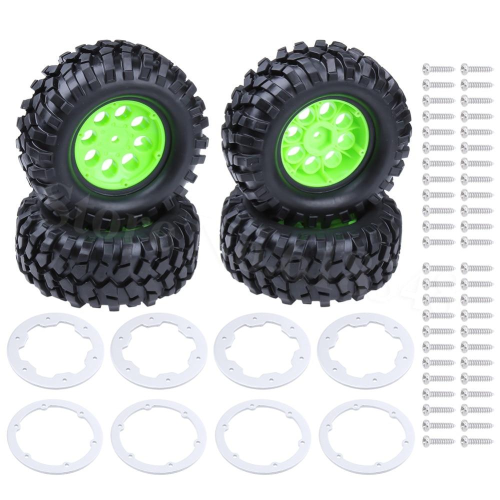 4 Stück RC 1//10 96mm 1.9 Reifen Tires Hex 12mm Wheels für RC Rock Crawler Truck