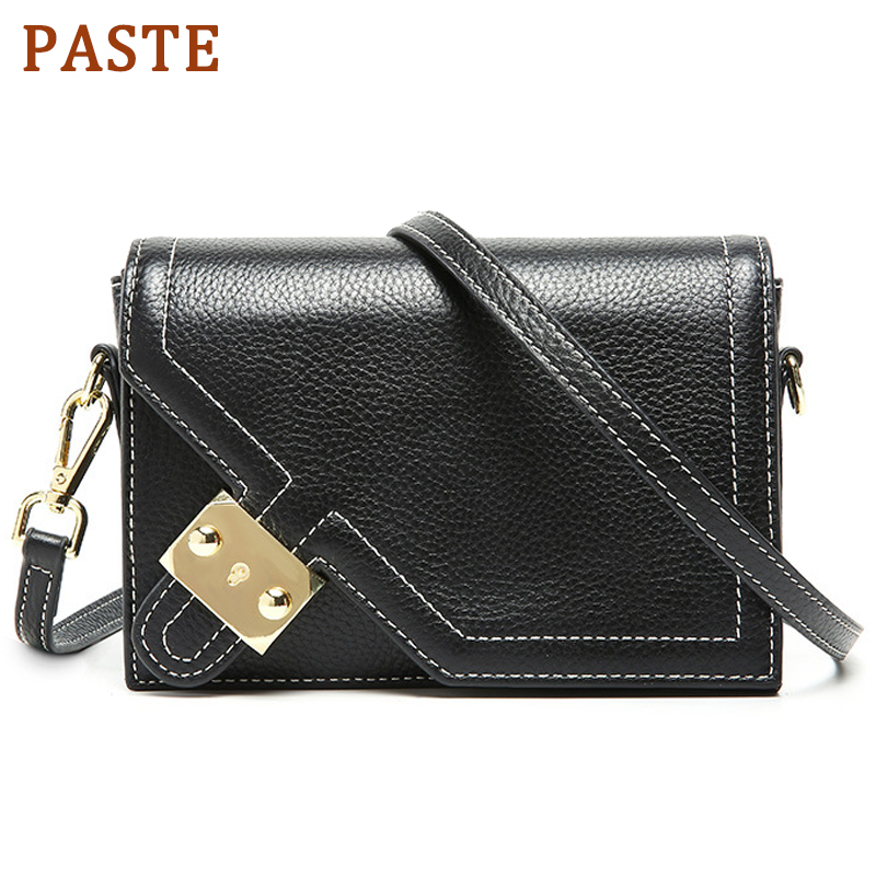 PASTE Women Messenger Bags Designer Small Flap Handbag Women Cowhide Leather Shoulder Bag Crossbody for Lady Fashion PursePASTE Women Messenger Bags Designer Small Flap Handbag Women Cowhide Leather Shoulder Bag Crossbody for Lady Fashion Purse