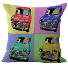 American Anime Pop Art One Side Printing Home Decor Sofa Car Seat Decorative Cushion Cover Pillow Case