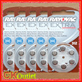 30 PCS Rayovac Extra Performance 312 PR41 A312 1.45V Hearing Aids Zinc Air Button Battery Batteries Made in UK with Free Gift