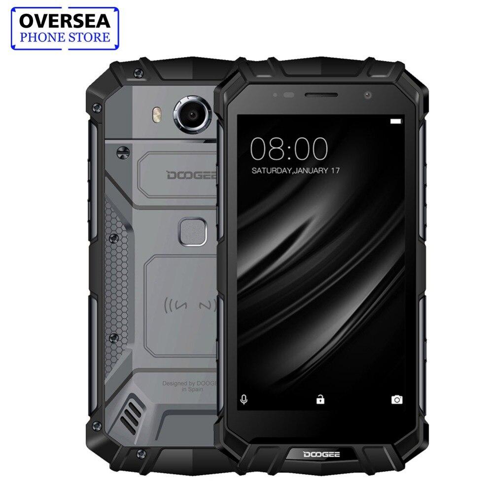 IP68 DOOGEE S60 Drahtlose Lade 5580 mah 12V2A Quick Charge 5,2 ''FHD Helio P25 Octa Core 6 gb 64 gb Smartphone 21.0MP Kamera