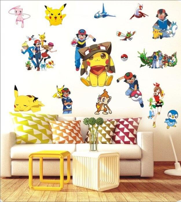 55*80 cm Pegatinas de Pared para Niños Sala de Decoración Para El Hogar de Dibuj