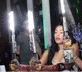 Free Корабль Красочный светодиодные Вспышки Холодного Фейерверка Палочки Светящиеся Строб Исчезать Гладкую Палку Шампанское Вино Пробки Баров Поставщиком