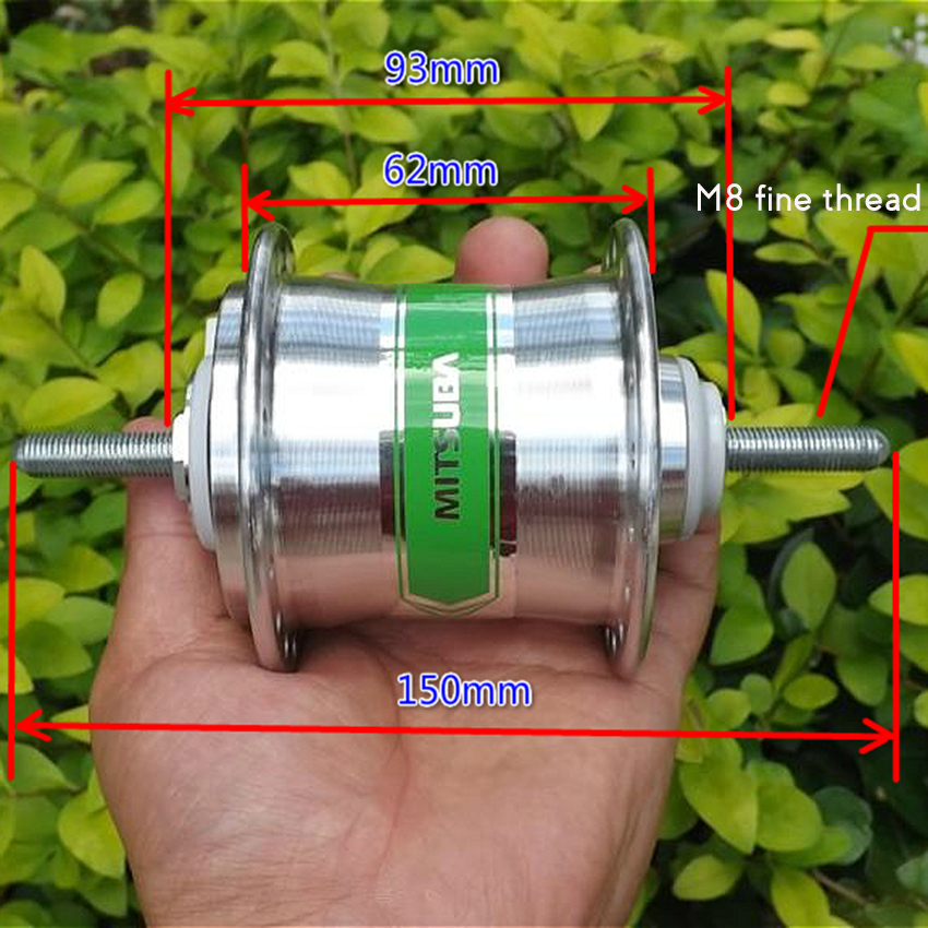 DC 6V 2.4W Bicycle Hub Motor Bike Wheel Motor Driver 36 Holes Diameter 2.8mm E-Bike Motor Generator Shared Bicycle Generator